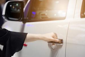Opening-car-door
